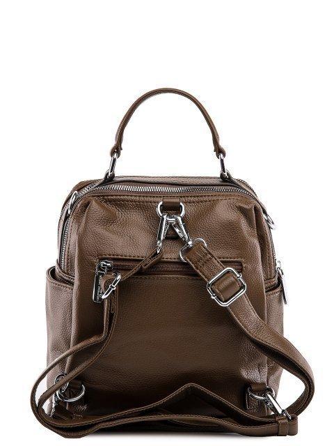 Коричневый рюкзак Fabbiano (Фаббиано) - артикул: 0К-00032863 - ракурс 3
