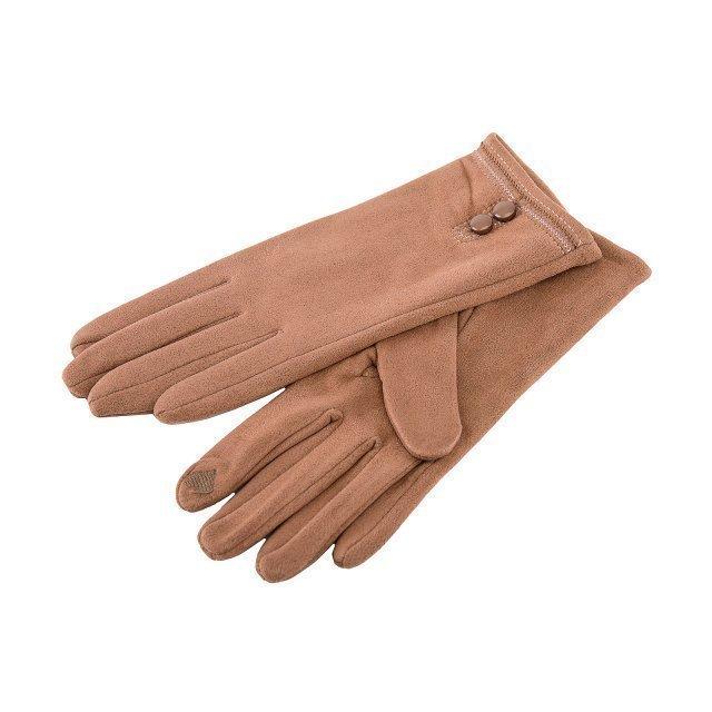 Темно-бежевые перчатки Angelo Bianco - 399.00 руб