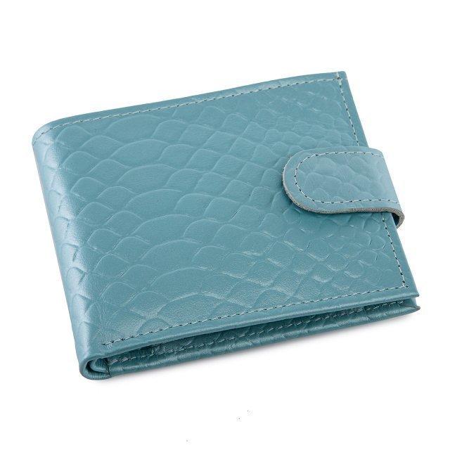 Голубое портмоне Кайман - 999.00 руб