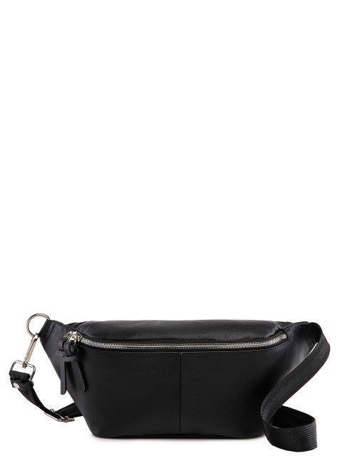 Чёрная сумка на пояс S.Lavia - 2975.00 руб