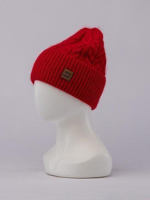 Красная шапка FERZ (FERZ) - артикул: 0К-00032190 - ракурс 1
