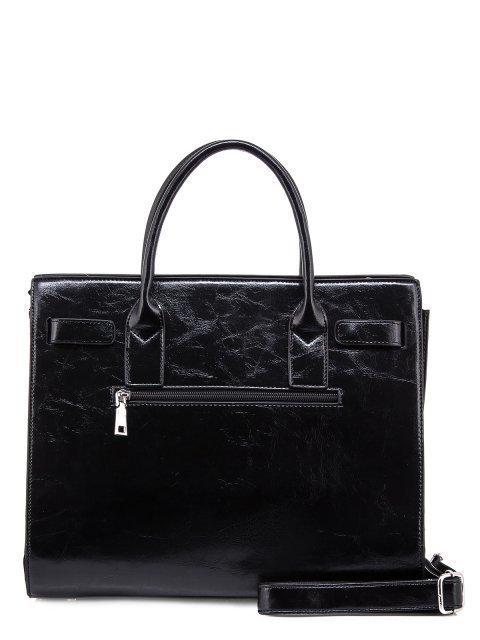 Чёрная прямоугольная сумка Domenica (Domenica) - артикул: 0К-00003280 - ракурс 3