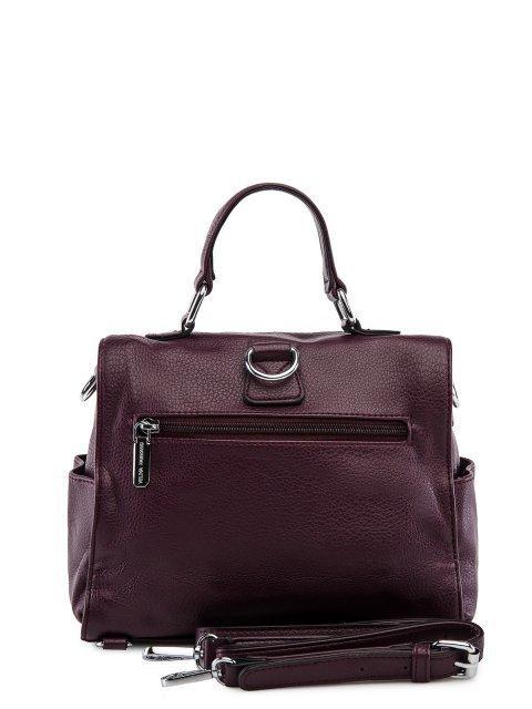 Бордовый рюкзак Fabbiano (Фаббиано) - артикул: 0К-00033000 - ракурс 3