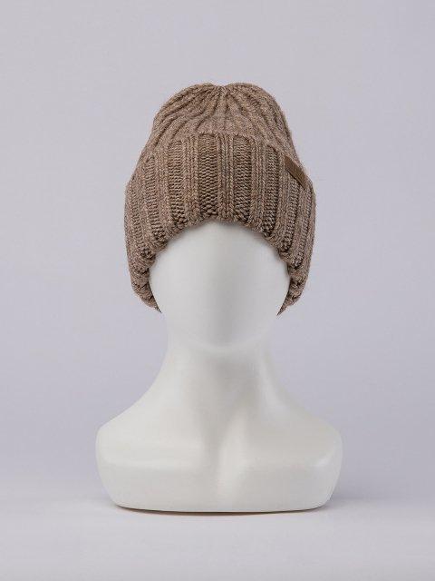 Бежевая шапка FERZ - 1499.00 руб