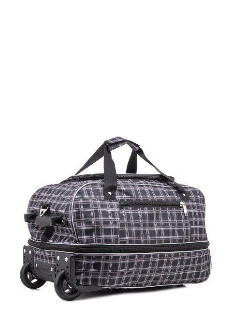 Серый чемодан Lbags (Эльбэгс) - артикул: К0000018620 - ракурс 1