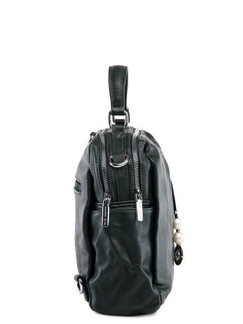 Зелёный рюкзак Fabbiano (Фаббиано) - артикул: 0К-00032874 - ракурс 2