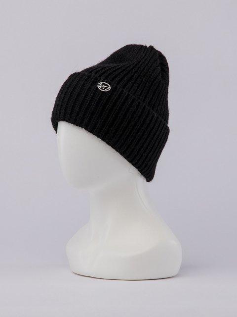 Чёрная шапка FERZ (FERZ) - артикул: 0К-00032212 - ракурс 1