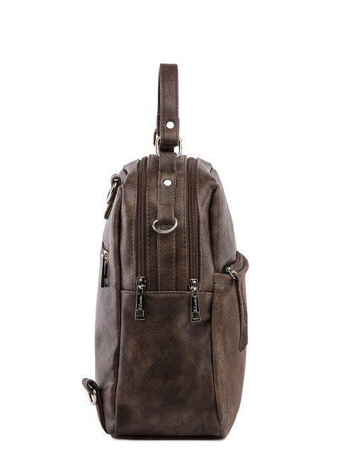 Коричневый рюкзак S.Lavia (Славия) - артикул: 1183 99 52.36.88002 - ракурс 2
