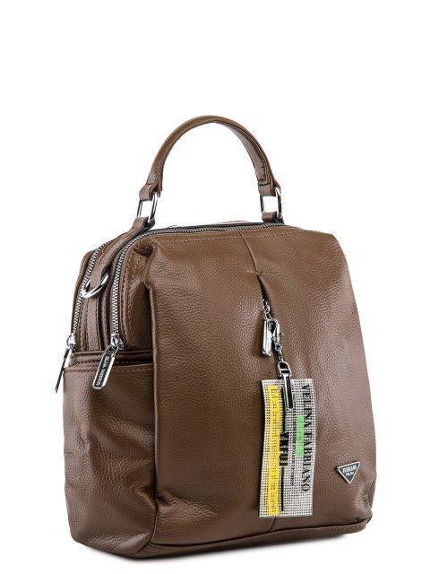 Коричневый рюкзак Fabbiano (Фаббиано) - артикул: 0К-00032863 - ракурс 1