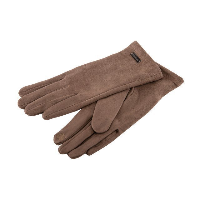 Серо-коричневые перчатки Angelo Bianco - 399.00 руб
