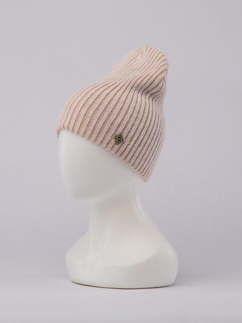 Светло-бежевая шапка FERZ (FERZ) - артикул: 0К-00032218 - ракурс 1