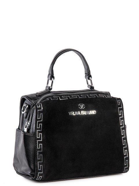 Чёрный рюкзак Fabbiano (Фаббиано) - артикул: 0К-00032999 - ракурс 1