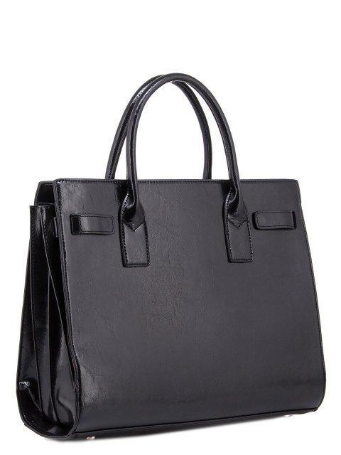 Чёрная прямоугольная сумка Domenica (Domenica) - артикул: 0К-00003280 - ракурс 1