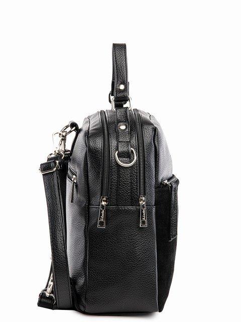 Чёрный рюкзак S.Lavia (Славия) - артикул: 1183 99 01.113 - ракурс 2