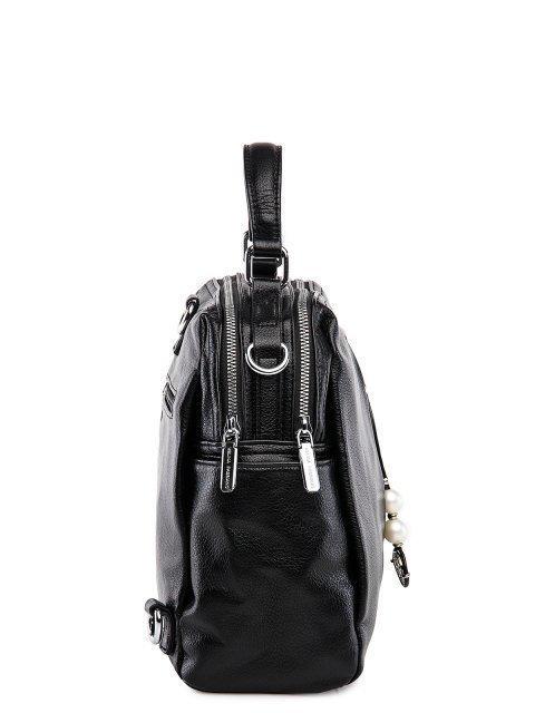Чёрный рюкзак Fabbiano (Фаббиано) - артикул: 0К-00032865 - ракурс 2