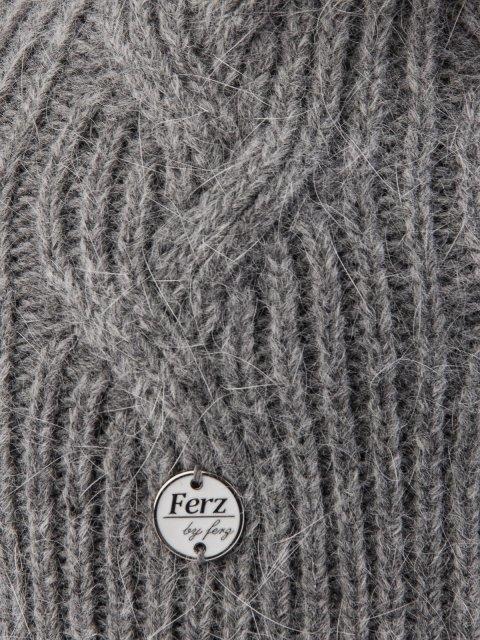 Серая шапка FERZ (FERZ) - артикул: 0К-00032223 - ракурс 2