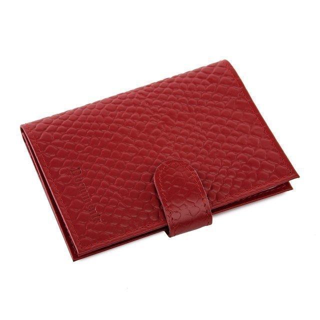 Красная обложка для документов Кайман - 629.00 руб