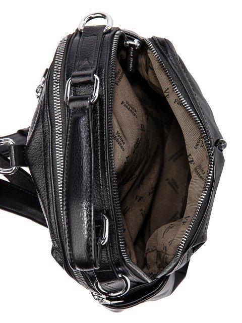 Чёрный рюкзак Fabbiano (Фаббиано) - артикул: 0К-00032865 - ракурс 4