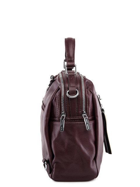 Бордовый рюкзак Fabbiano (Фаббиано) - артикул: 0К-00032864 - ракурс 2
