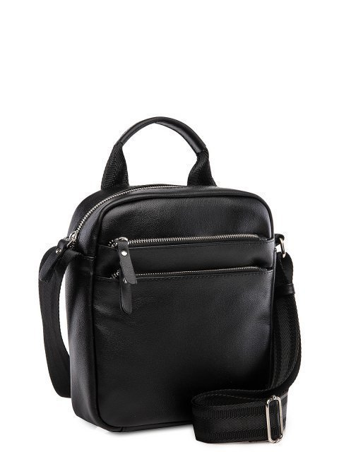 Чёрная сумка планшет S.Lavia (Славия) - артикул: 0039 10 01.83 - ракурс 1