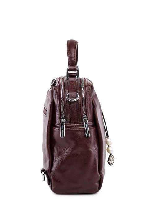 Бордовый рюкзак Fabbiano (Фаббиано) - артикул: 0К-00032867 - ракурс 2