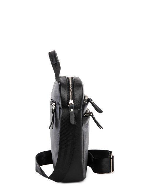 Чёрная сумка планшет S.Lavia (Славия) - артикул: 0039 10 01.14 - ракурс 2