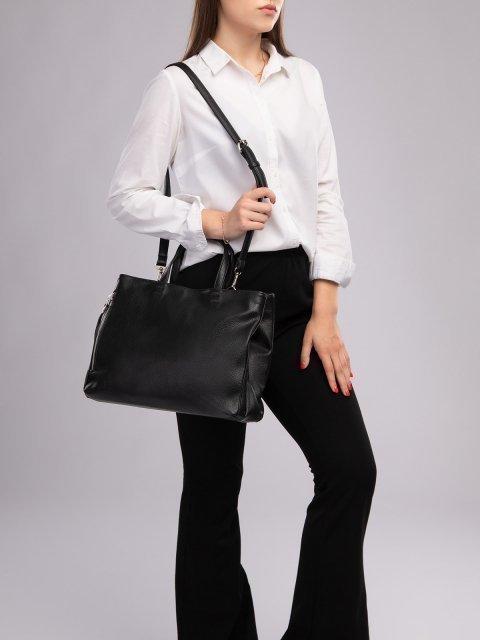 Чёрная сумка классическая S.Lavia (Славия) - артикул: 940 902 01 - ракурс 6