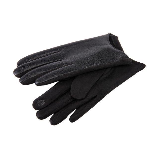 Чёрные перчатки Angelo Bianco - 399.00 руб