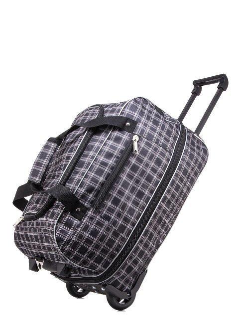 Серый чемодан Lbags (Эльбэгс) - артикул: К0000018620 - ракурс 4