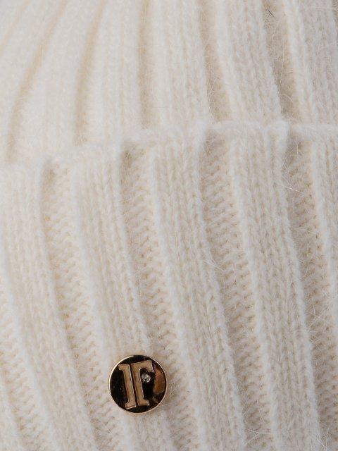 Белая шапка FERZ (FERZ) - артикул: 0К-00032205 - ракурс 2