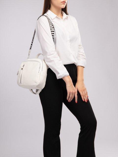 Белый рюкзак S.Lavia (Славия) - артикул: 1185 598 10.69К - ракурс 5
