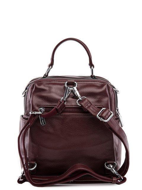 Бордовый рюкзак Fabbiano (Фаббиано) - артикул: 0К-00032867 - ракурс 3