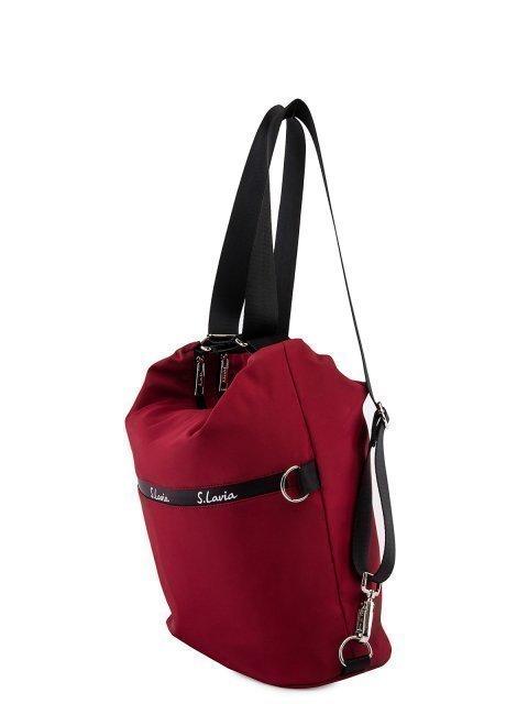 Бордовая сумка мешок S.Lavia (Славия) - артикул: 00-116 41 03.46 - ракурс 5