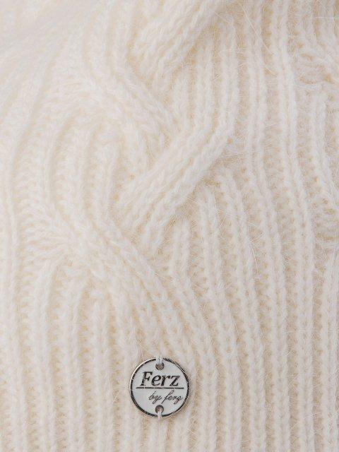 Белая шапка FERZ (FERZ) - артикул: 0К-00032219 - ракурс 2