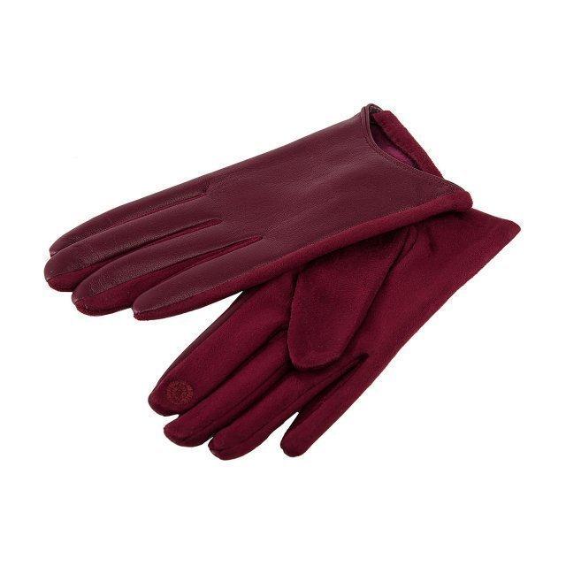 Бордовые перчатки Angelo Bianco - 399.00 руб