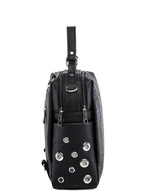 Чёрный рюкзак S.Lavia (Славия) - артикул: 1247 903 01 - ракурс 2
