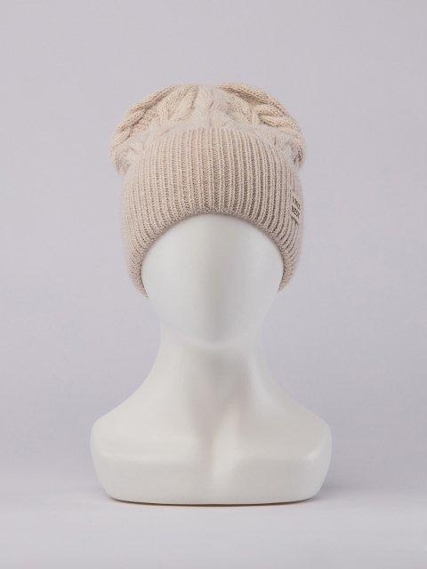 Светло-бежевая шапка FERZ - 1699.00 руб