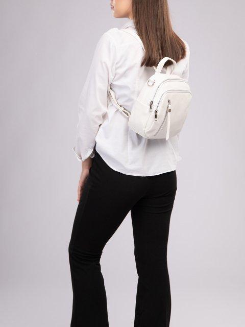 Белый рюкзак S.Lavia (Славия) - артикул: 1185 598 10.69К - ракурс 6