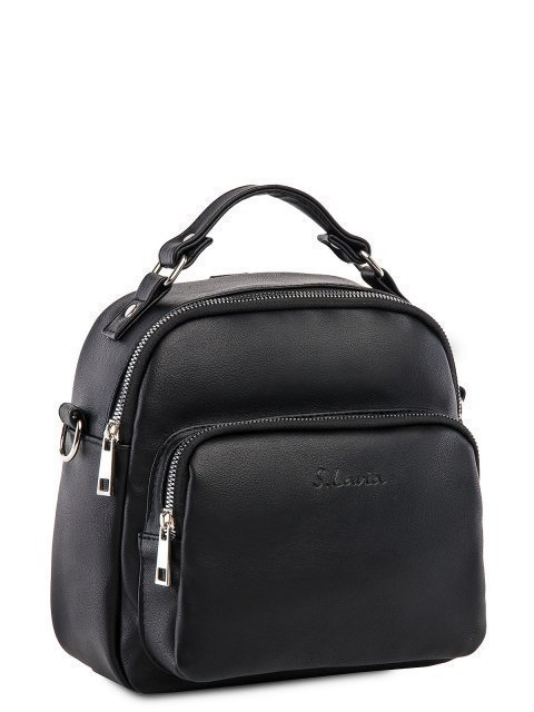 Чёрный рюкзак S.Lavia (Славия) - артикул: 1246 910 01 - ракурс 2