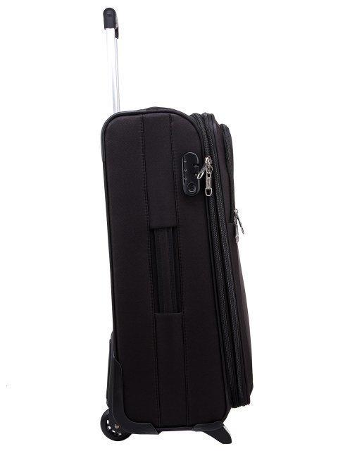 Чёрный чемодан 4 Roads (4 Roads) - артикул: 0К-00006589 - ракурс 2