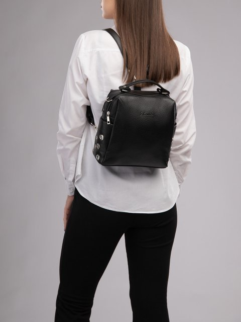 Чёрный рюкзак S.Lavia (Славия) - артикул: 1247 902 01 - ракурс 5