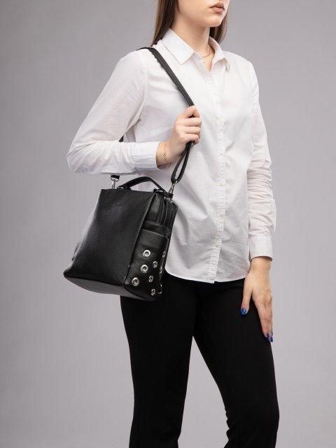 Чёрный рюкзак S.Lavia (Славия) - артикул: 1247 902 01 - ракурс 6