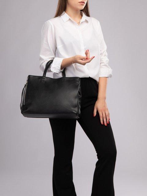 Чёрная сумка классическая S.Lavia (Славия) - артикул: 940 902 01 - ракурс 5