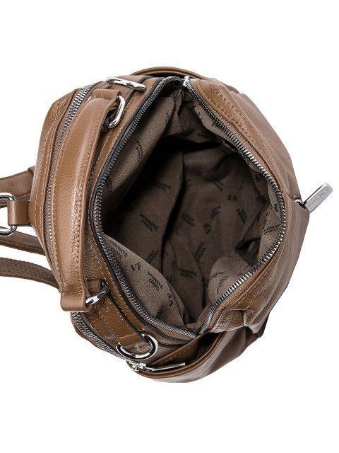 Коричневый рюкзак Fabbiano (Фаббиано) - артикул: 0К-00032863 - ракурс 4