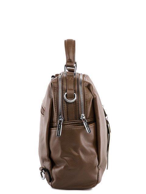 Коричневый рюкзак Fabbiano (Фаббиано) - артикул: 0К-00032863 - ракурс 2