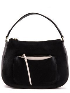 Чёрная сумка мешок Gianni Chiarini