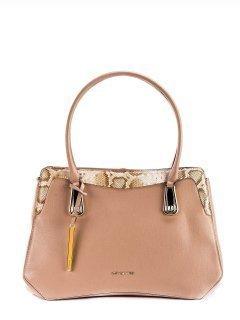 Бежевая сумка классическая Cromia