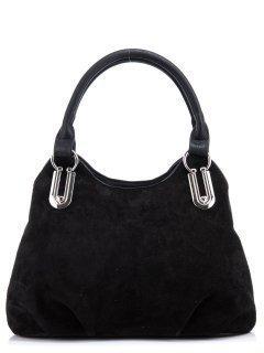Чёрная сумка классическая S.Lavia