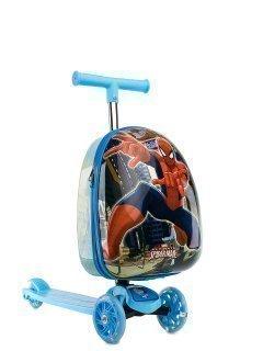 Синий чемодан Angelo Bianco