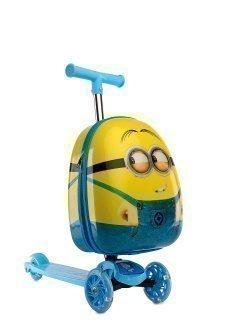 Жёлтый чемодан Angelo Bianco